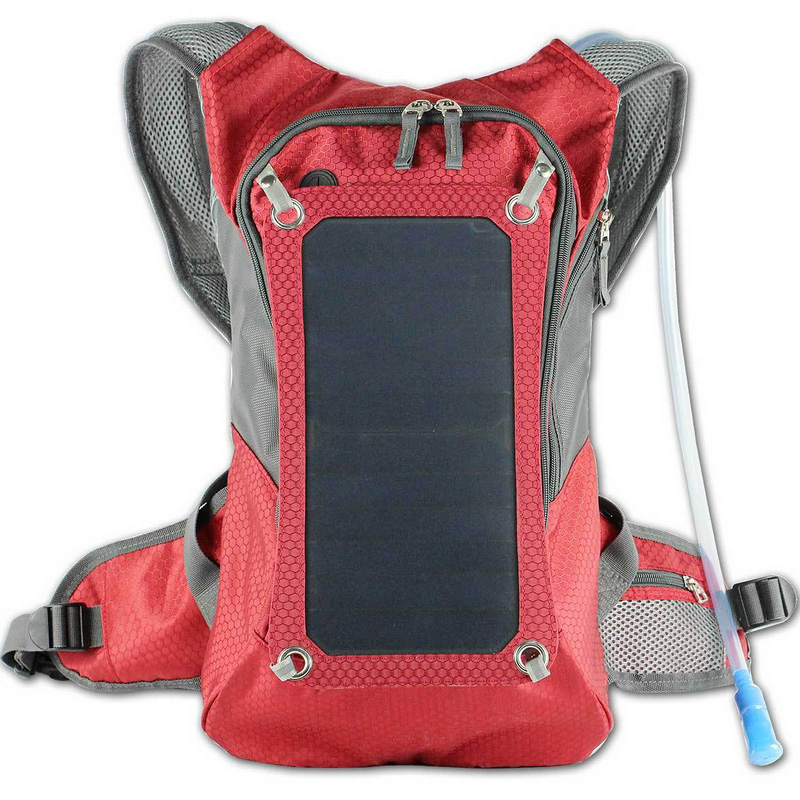 6.5watt SUNPOWER cells solar backpack, solar travelly backpack , Eco Miracle Electronic Limited solar backpack
