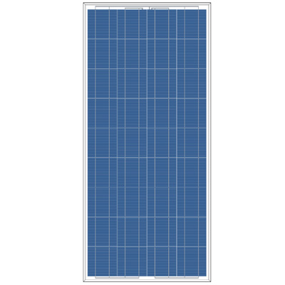 120 ~145 watt polysilicon solar panel for home solar system , output 18V