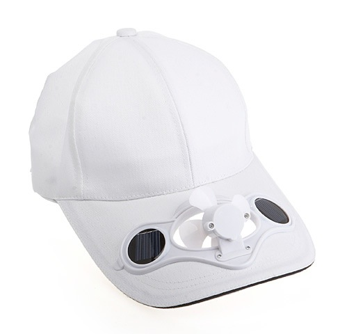 Mix color solar fan hat, cooling solar fan cap , can do your logo as free charge