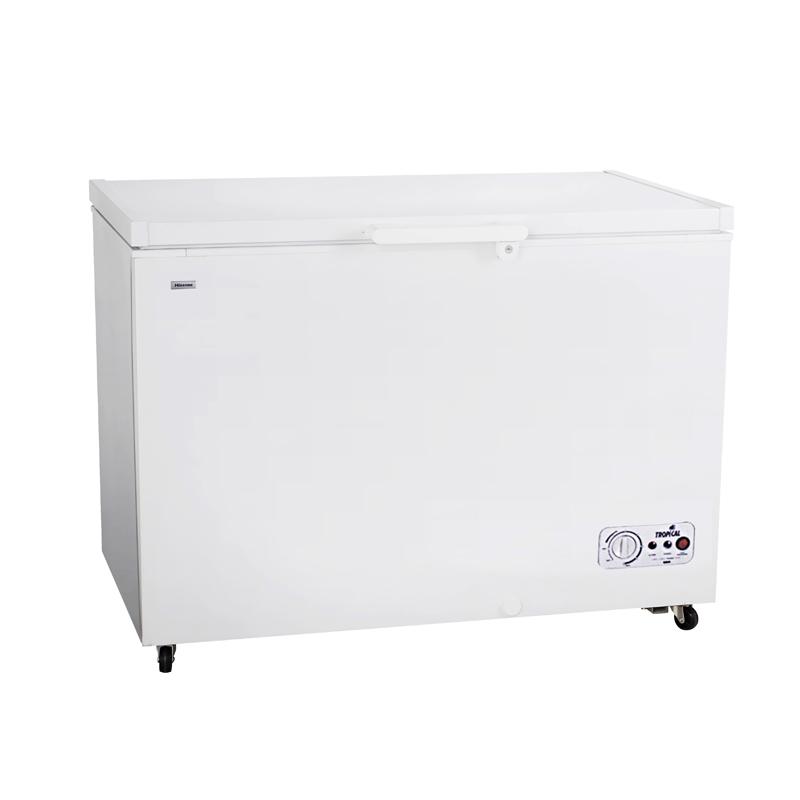 328L solar freezer ,100watt solar panel with 50Ah battery