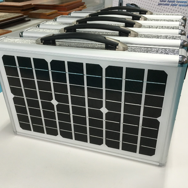 18watt portable solar system , solar charger station, solar system , Eco-Miracle solar stylste