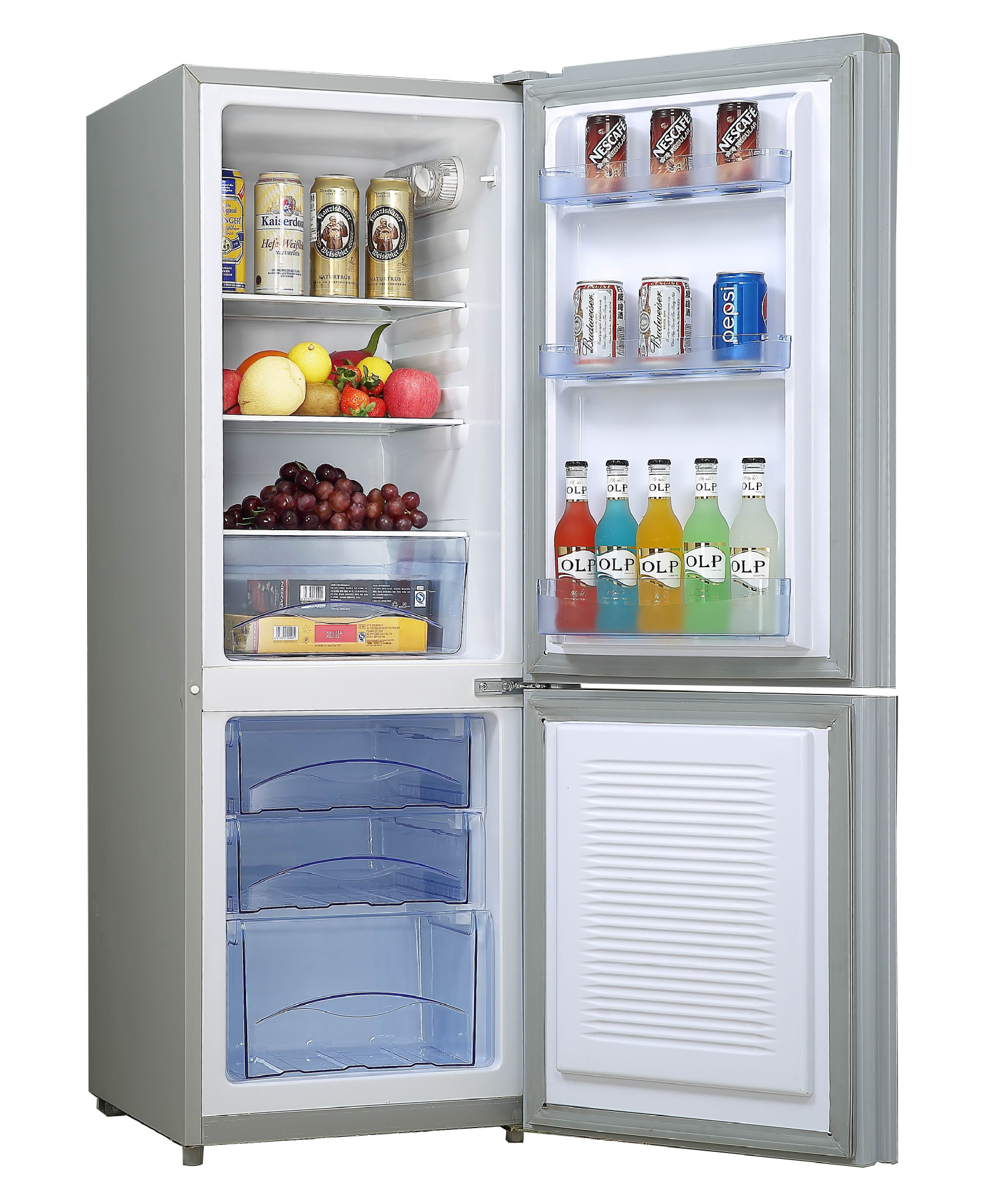 153L DC12V~24V fridge/freezer