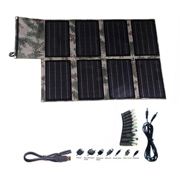80watt portable solar foldable bag charger