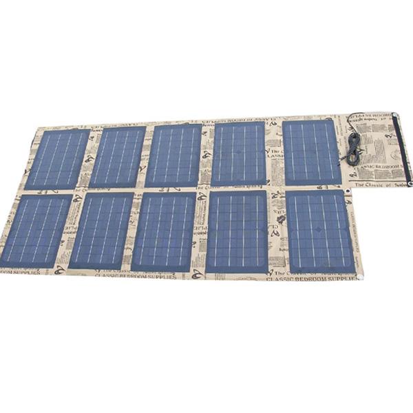 100watt foldable solar bag charger