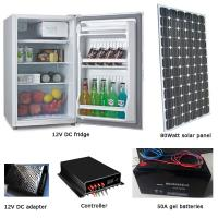 80L solar fridge with 80watt solar panel